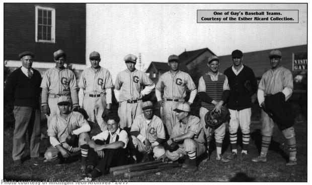 Gay's Baseball Team