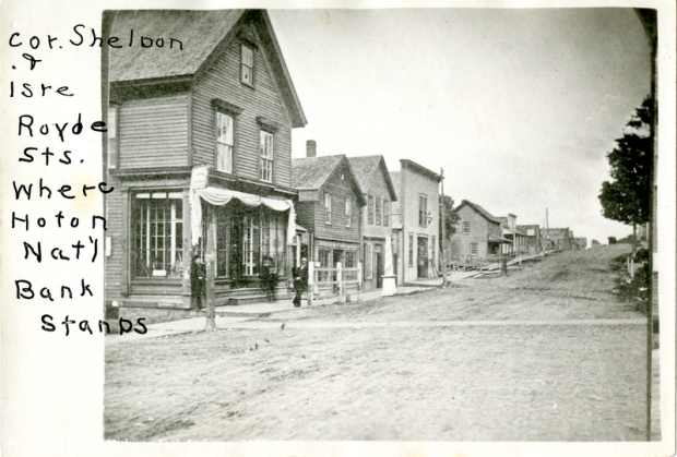 Corner of Isle Royale and Sheldon Streets