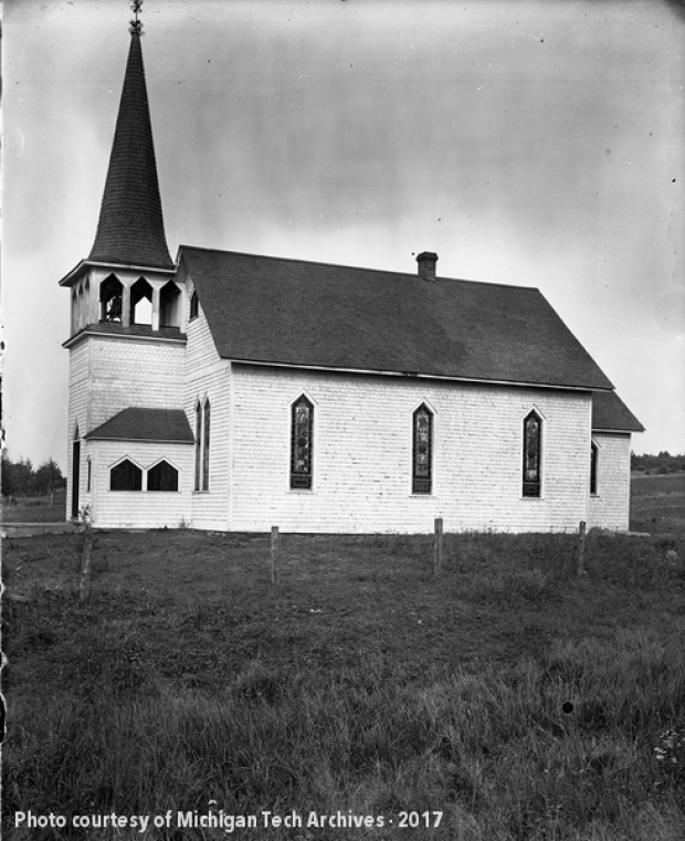 M.E. Church at Zeba