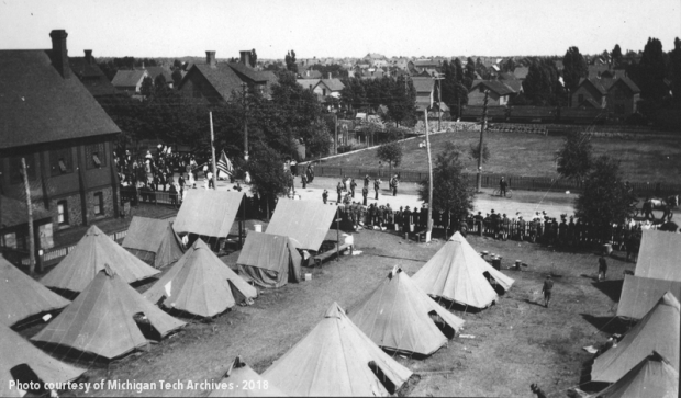 National Guard Camp