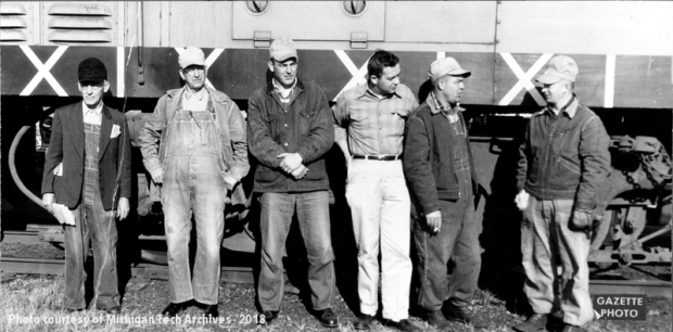 Archive Image of the Milwaukee Road's crew.