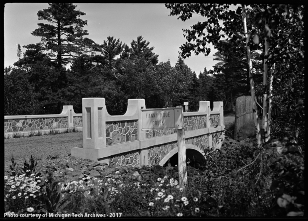 Bridge Over Fanny Hooe Creek