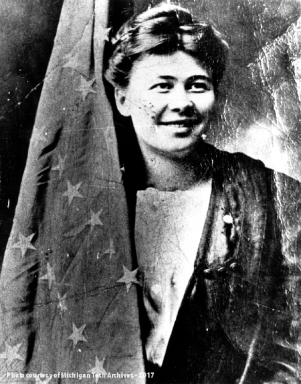 1913 : Big Annie Arrested During Copper Strike